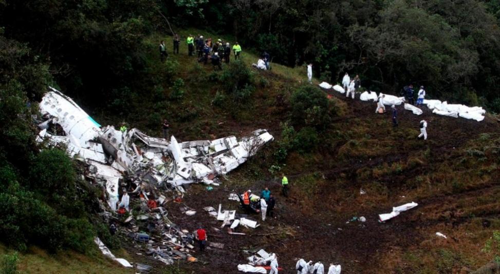 Detienen a mujer investigada por la tragedia del Chapecoense