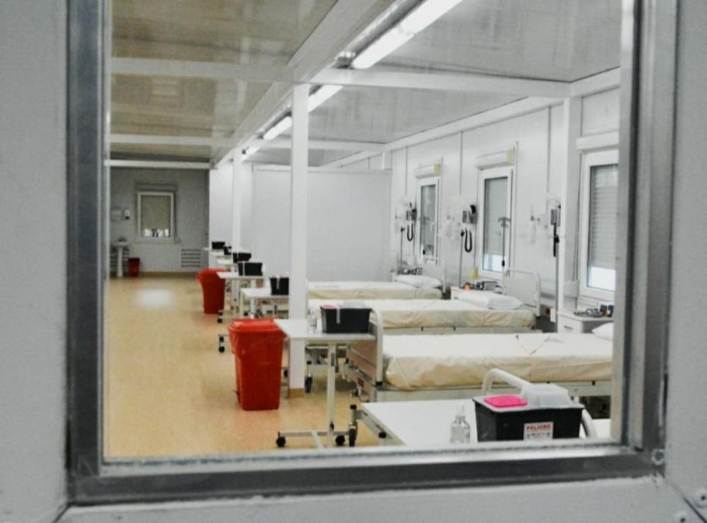 El hospital Modular funcionará para atención a pacientes sin Covid-19