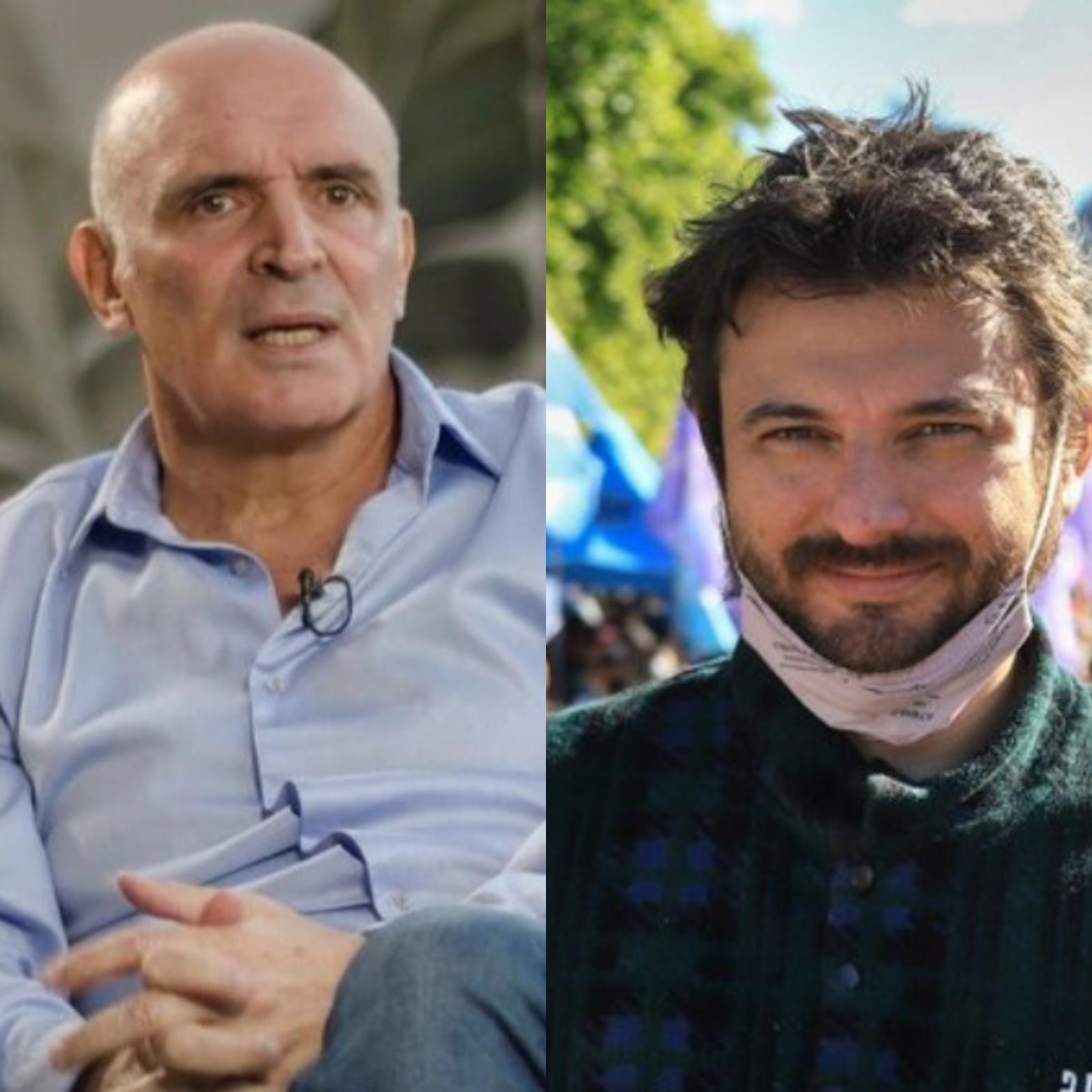 Duro cruce entre José Luis Espert y Juan Grabois