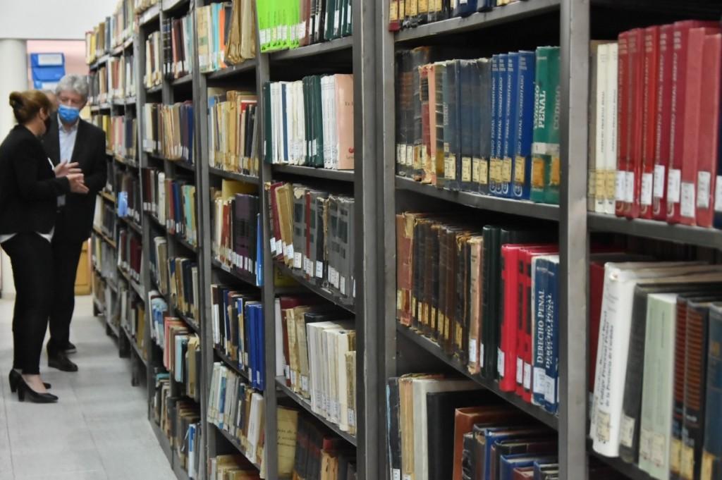 Biblioteca Legislativa: conmemoraron el 25º aniversario de la imposición del nombre