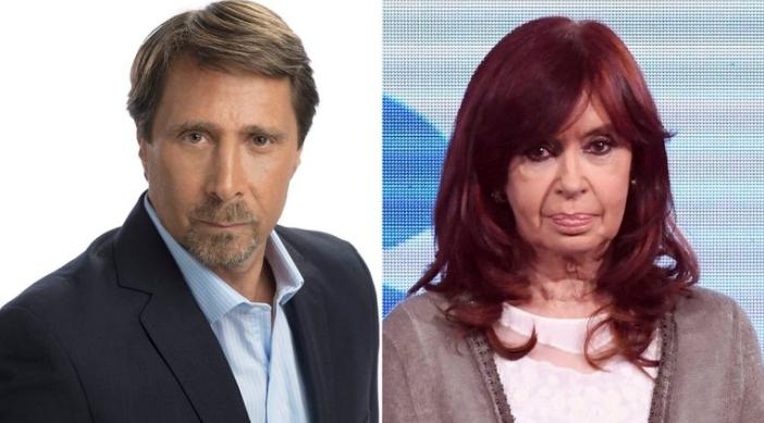 Rechazaron una demanda de Cristina Kirchner contra Eduardo Feinmann