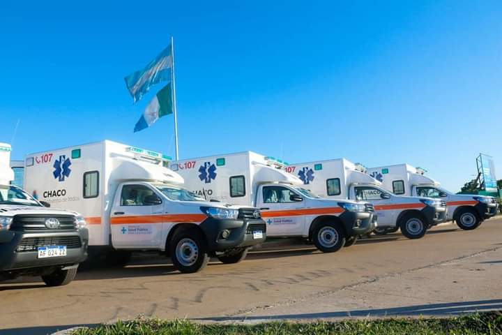 Seis nuevas ambulancias para localidades con caminos dificultosos