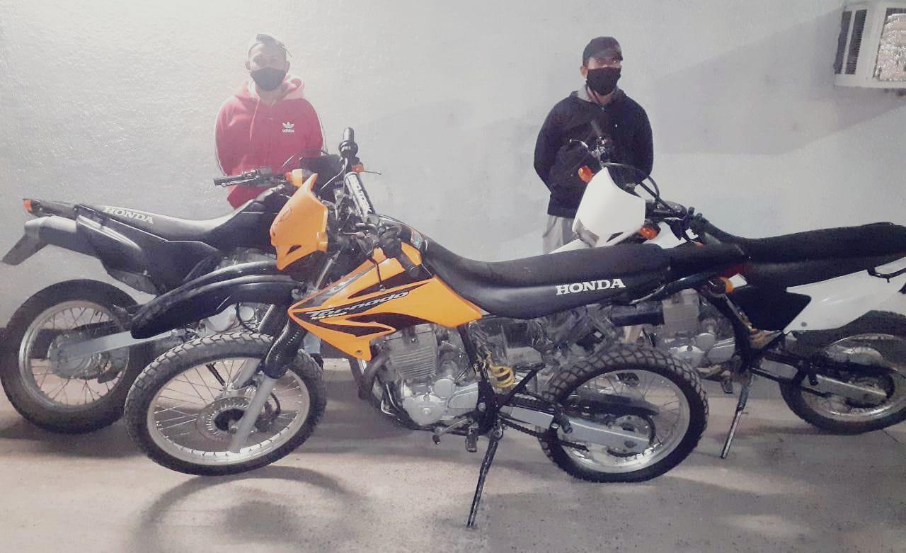 Detenido por conducir una motocicleta con los datos adulterados