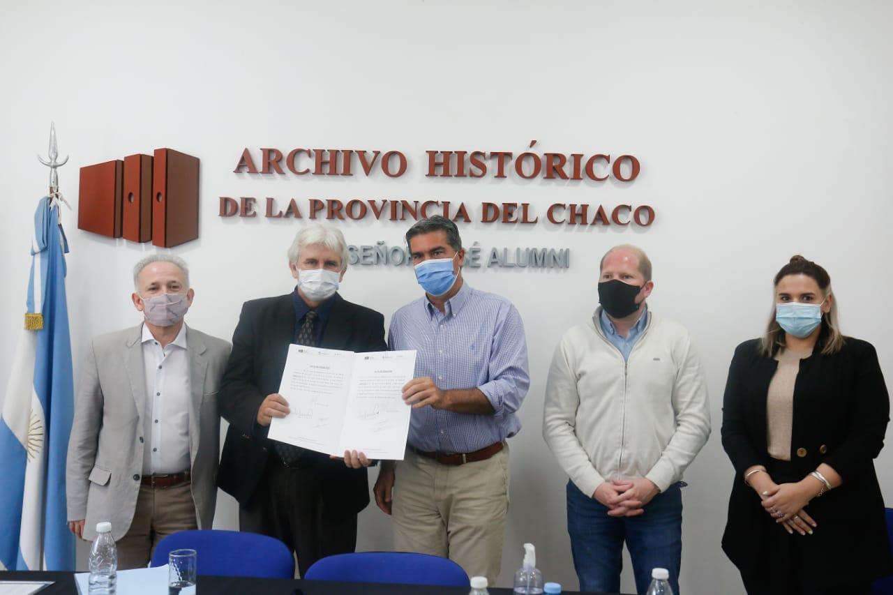 Capitanich encabezó el acto por el 67°aniversario del archivo histórico de la provincia