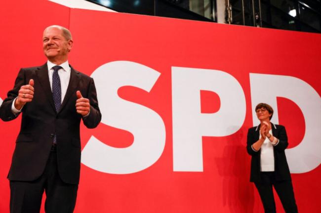 Elecciones en Alemania: ajustado triunfo de los socialdemócratas