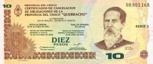 Hoy cumpliría 20 años el Quebracho la cuasi moneda que tuvo el Chaco