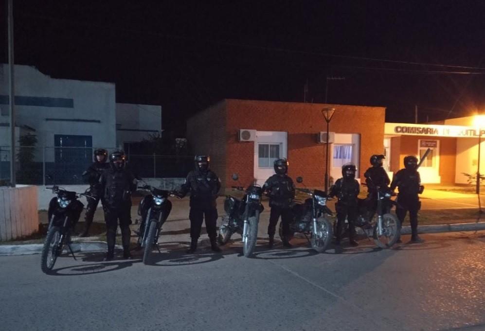 Cuerpo de Operaciones Motorizadas: en dos semanas secuestraron vehículos, armas y evitaron ilícitos