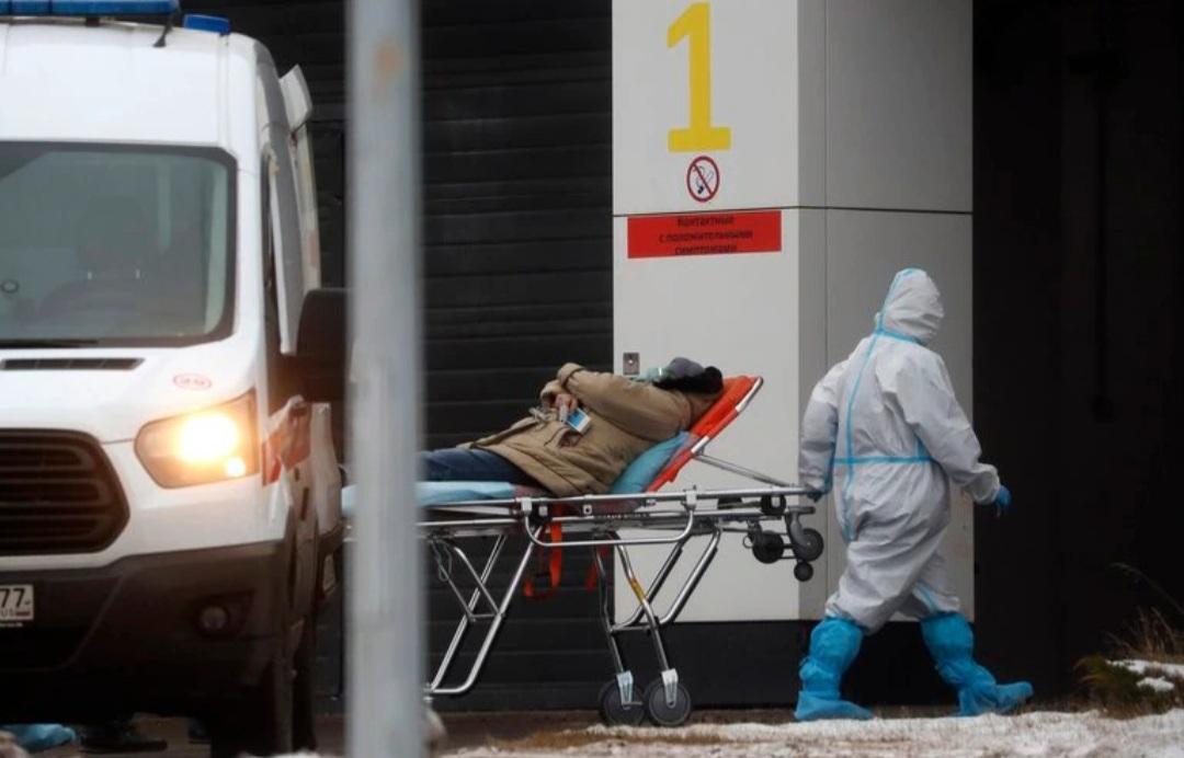 Rusia registró otro récord diario de muertes por coronavirus