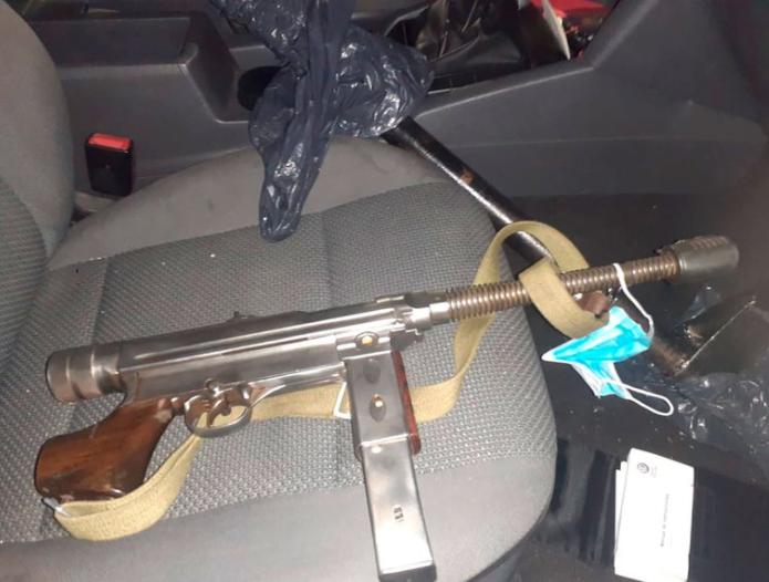 Robo frustrado y lluvia de balas en Banfield: los ladrones usaron una ametralladora