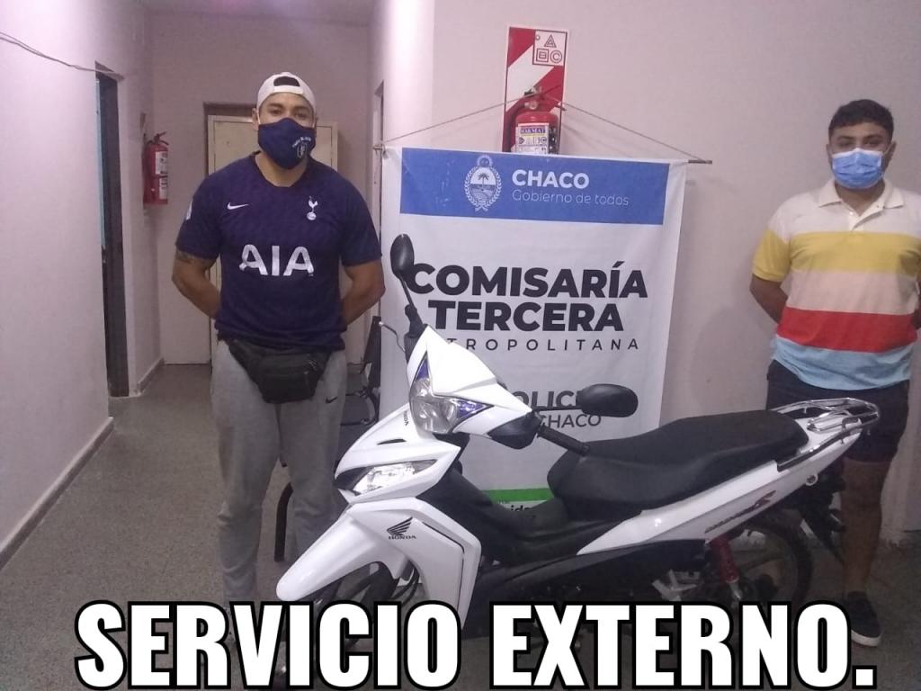 En tareas de prevención se recuperaron una bicicleta y una motocicleta