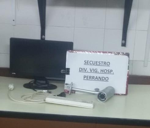 Robo a la farmacia del Hospital Perrando