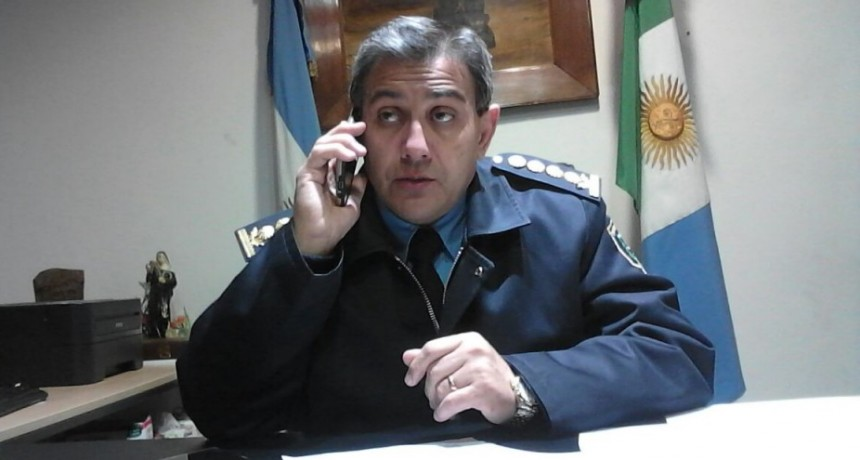 Manifestación en Comisaría de Quitilipi