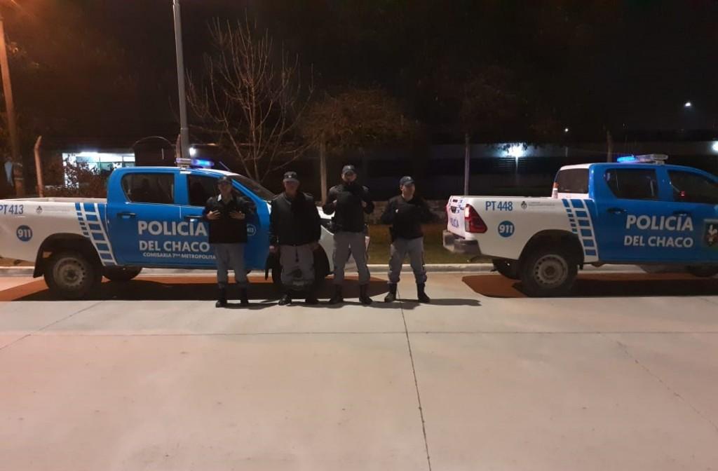 Exitoso operativo de la Policía del Chaco durante el acto eleccionario en toda la provincia