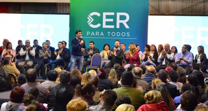 Gustavo Martínez presentó a los candidatos a concejales de CER PARA TODOS en una reunión con representantes de  la zona Norte y Este