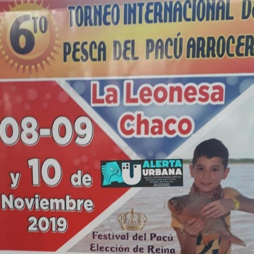 """La Leonesa se prepara para el """"Torneo Internacional de Pesca del Pacú Arrocero"""" del 8 al 10 de noviembre"""