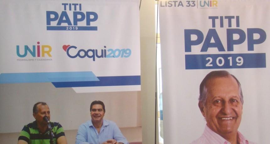 """Titi Papp: """"según las encuestas le llevo 30 puntos al segundo"""""""