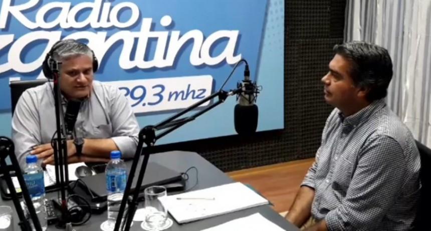 "Jorge Milton Capitanich: ""Es con todos"""