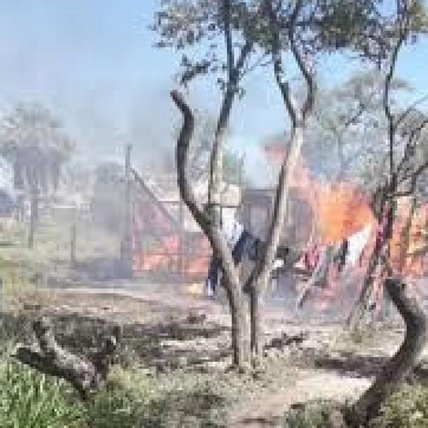 Incendio en B° Mate Cocido, el esposo de la señora fallecida, detenido por supuesto homicidio culposo