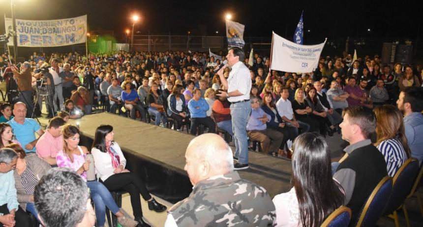 Multitudinario cierre de encuentros zonales de Gustavo Martínez con candidatos de CER PARA TODOS