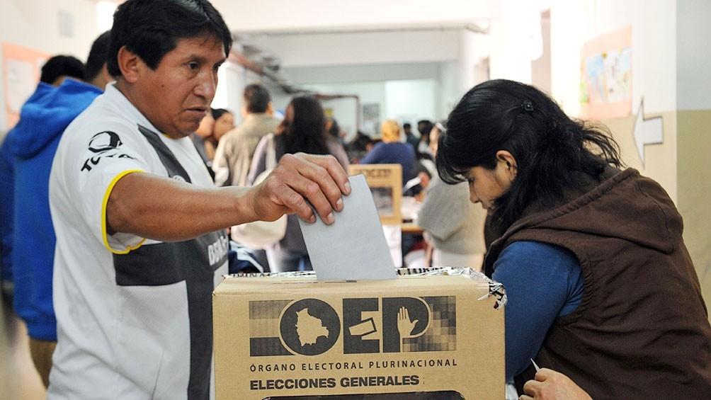 Establecen un protocolo sanitario para la votación de los bolivianos en la Argentina