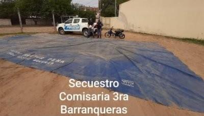 Detenidos tras perpetrar robos en Barranqueras