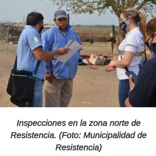 La Municipalidad de Resistencia constató denuncias por criaderos ilegales en la zona norte.