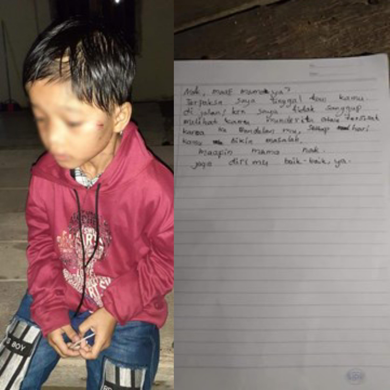 Indonesia: Abandonan a una nena de 8 años en una estación de servicio por