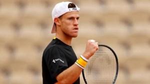 Diego Schwartzman pasó a cuartos de final en Roland Garros.