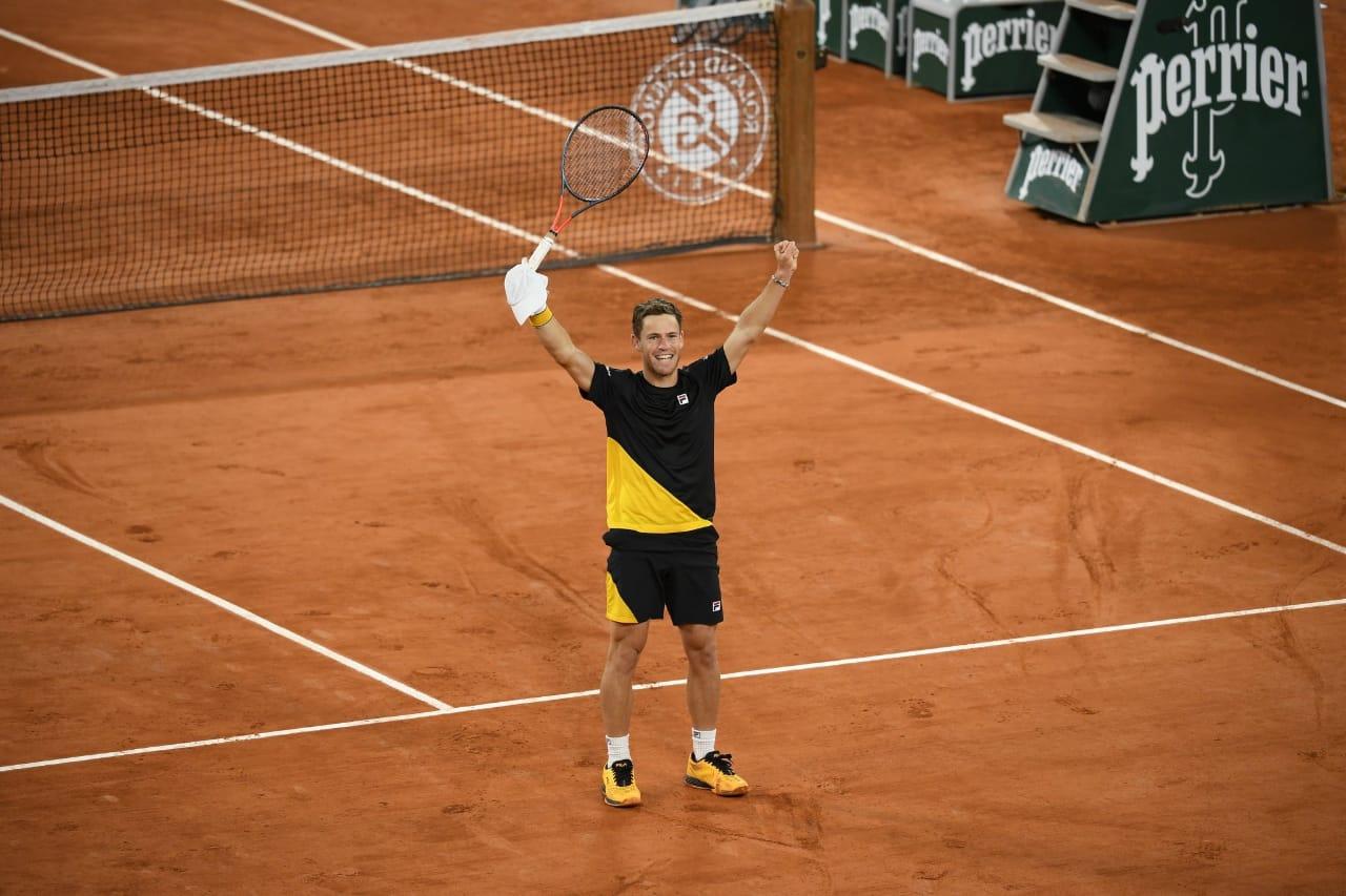 Victoria historica para Diego Schwartzman en Roland Garros
