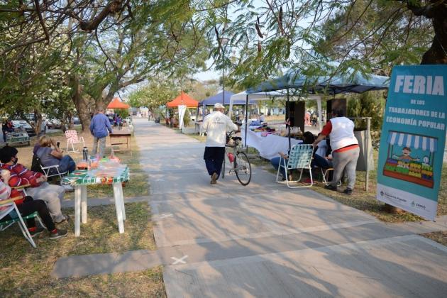Resistencia: Sábado de feria de productos locales en el Tiro Federal y en el Paseo Sur.