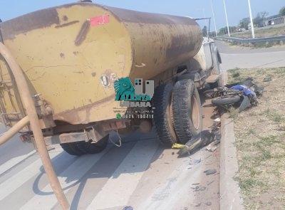Taco Pozo: falleció tras chocar contra un camión cisterna.
