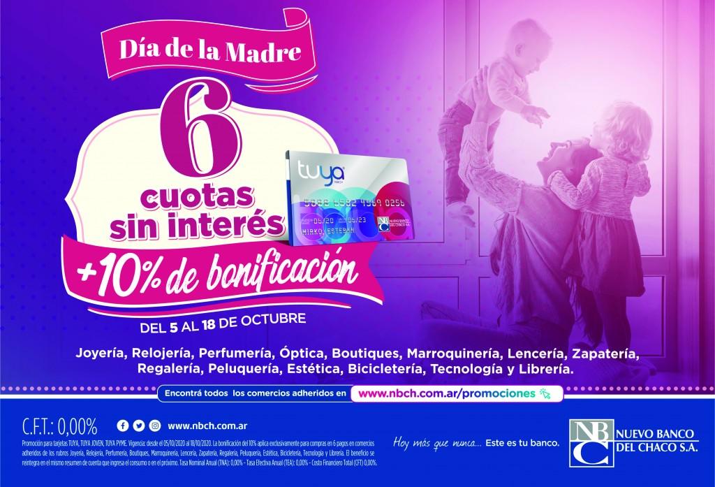 Arranca la promoción Día de la Madre de Tarjeta Tuya