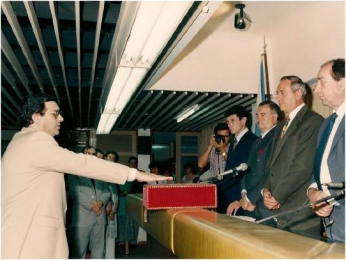 A 25 años del triunfo de Ángel Rozas que llevó por primera vez al radicalismo a gobernar Chaco.
