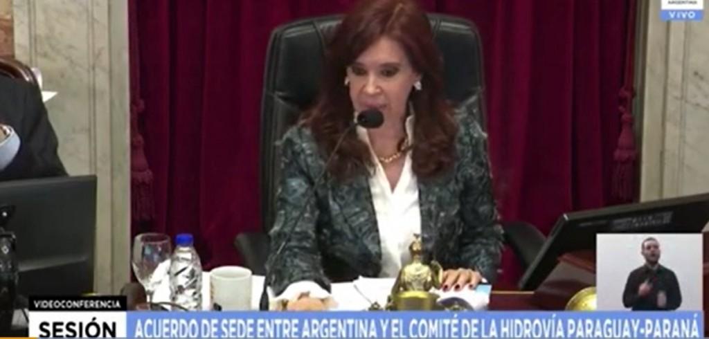 Otro cruce entre Cristina Kirchner y Esteban Bullrich en el Senado: esta vez por una falla en el sistema de votación
