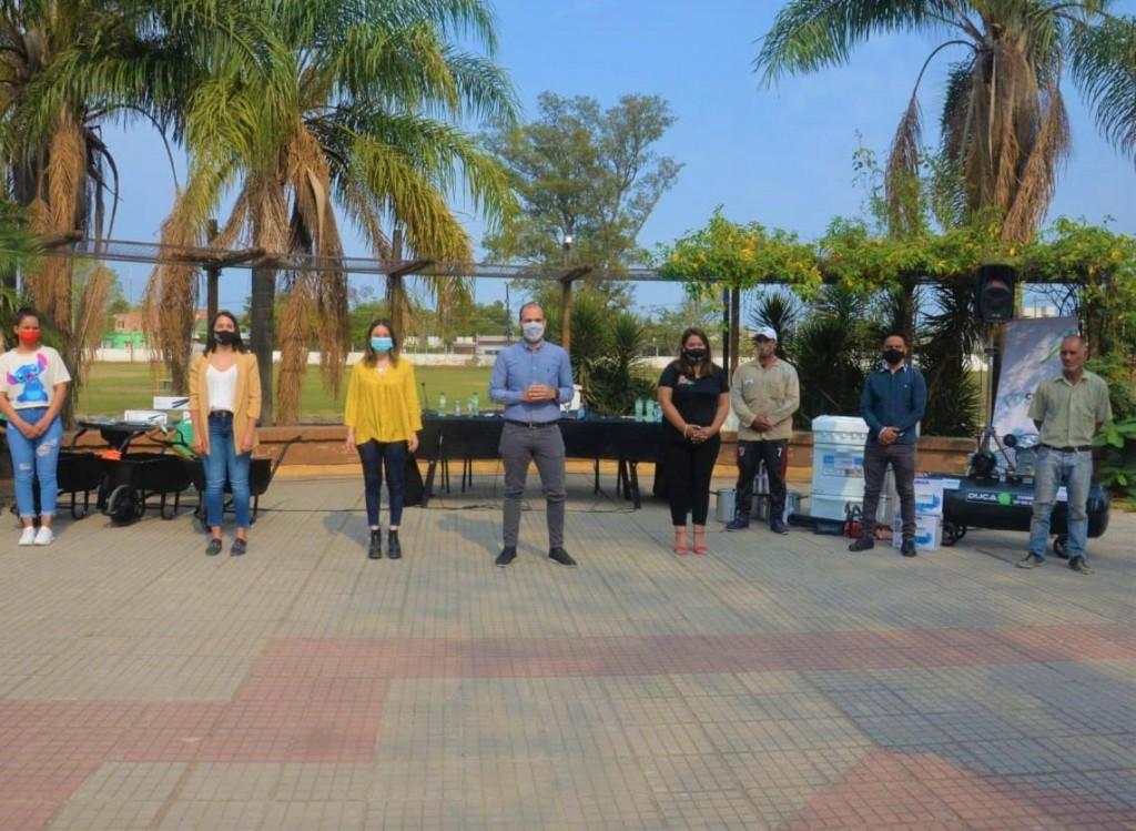 Apoyo al Emprendurismo y Fortalecimiento Instiitucional, fue la agenda de Desarrollo Social en General San Martín
