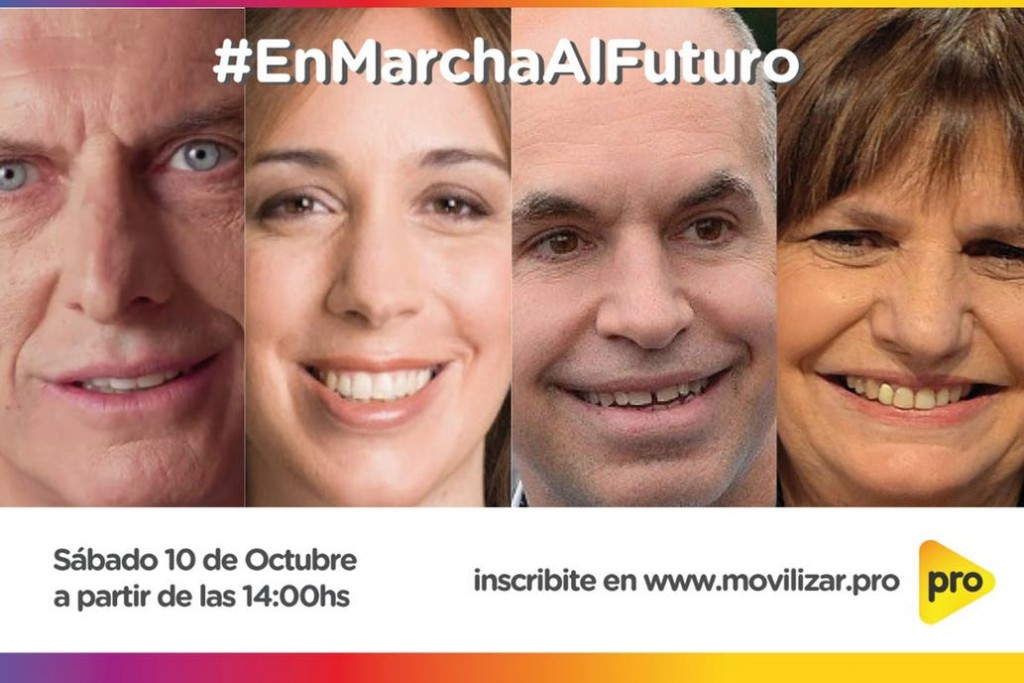 Mauricio Macri, Horacio Rodríguez Larreta, María Eugenia Vidal y Patricia Bullrich se encontrarán en un campus virtual de PRO