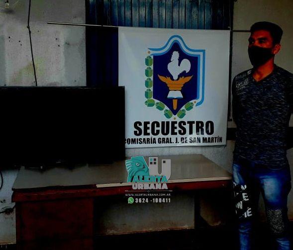 San Martín: restituyeron un Smart Tv valuado en $35.000 pesos, a su dueño