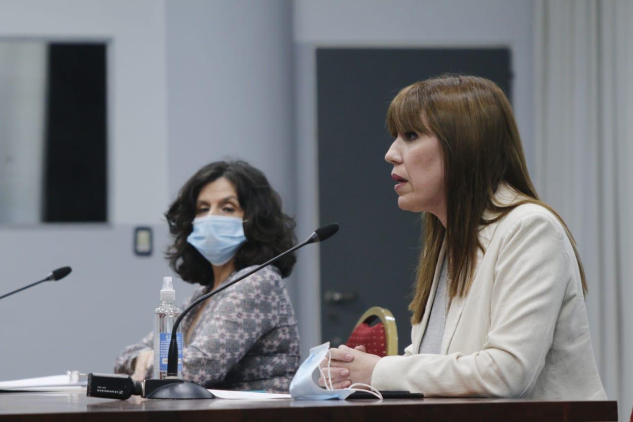 Ministra Paola Benítez: