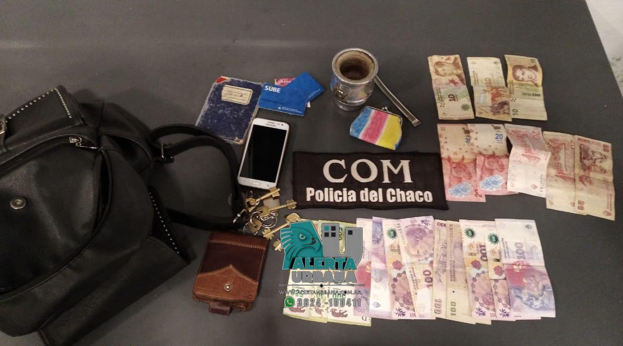 Resistencia: demoraron a dos jóvenes que habían robado una cartera