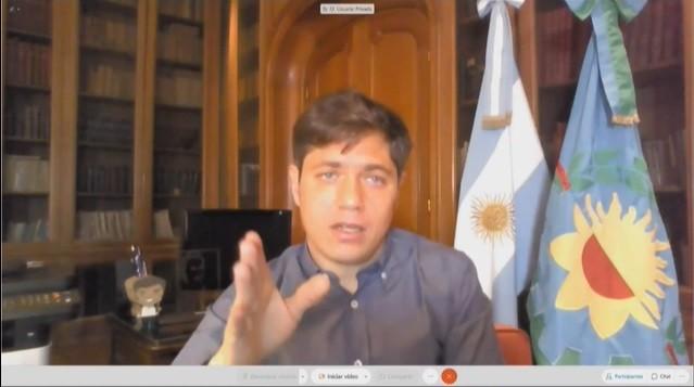 Coronavirus en la Argentina: Axel Kicillof anunció una