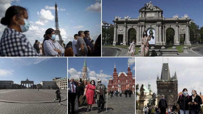 La segunda ola de coronavirus pone en alerta a las grande ciudades de Europa