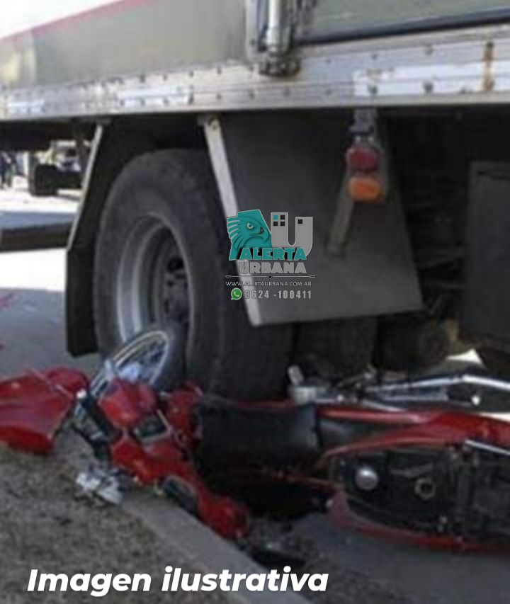 Resistencia: accidente de tránsito fatal