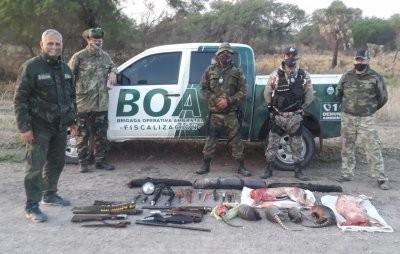 Interceptan a cazadores sin el correspondiente permiso en zona de Basail