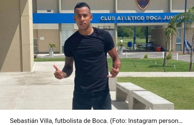 Fútbol: Sebastián Villa volvió a jugar en Boca tras la denuncia de violencia de género de su expareja.