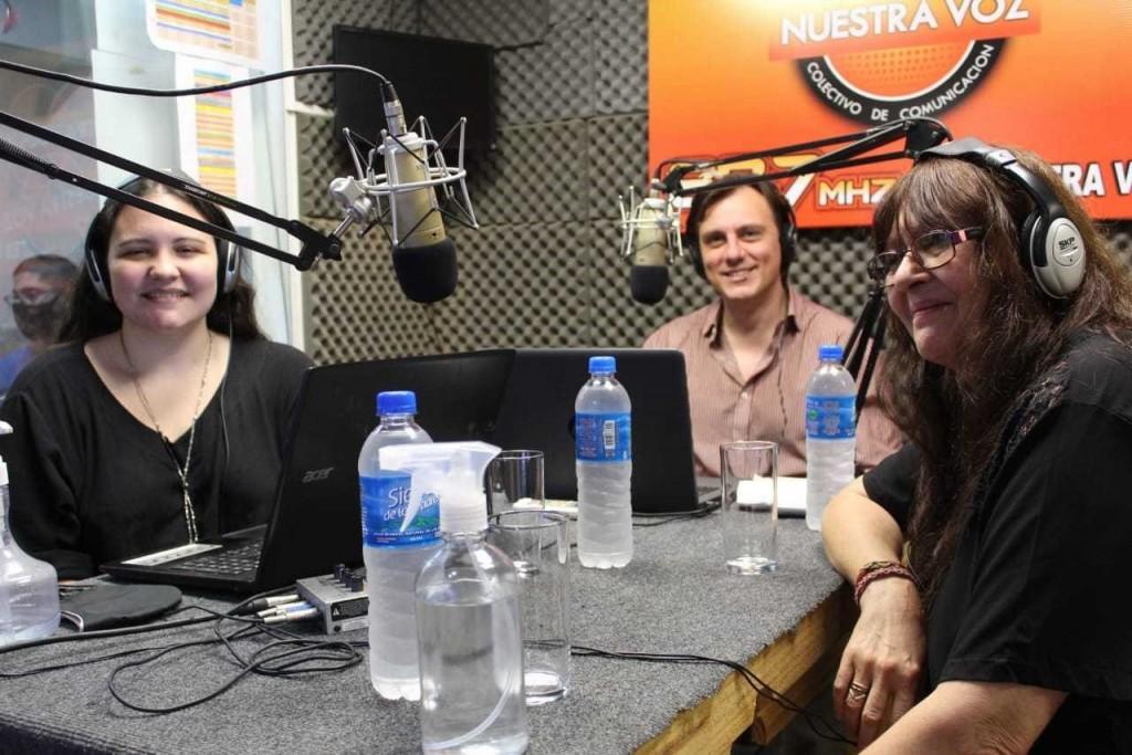 """Radio """"Nuestra voz"""" celebró sus 10 años con reconocimiento a Blanca de la Riega"""