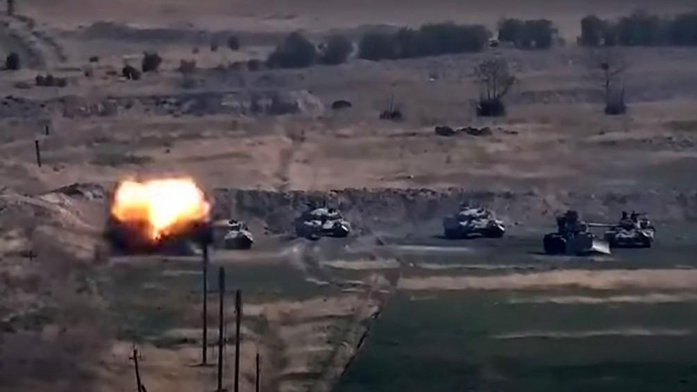 Azerbaiyán ataca territorio de Armenia y se agrava el conflicto