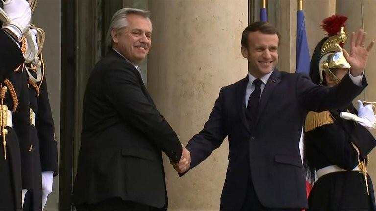 Alberto Fernández dialogará con Macron por la crisis mundial del COVID-19, la situación en Venezuela y el acuerdo Mercosur-UE
