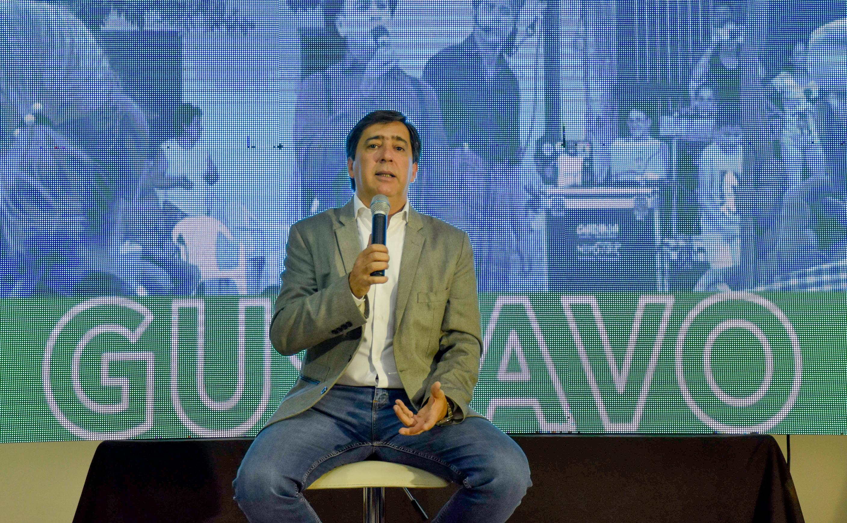 """""""La justicia social es más necesaria que nunca"""", indicó Gustavo Martínez en el Día de la Lealtad."""