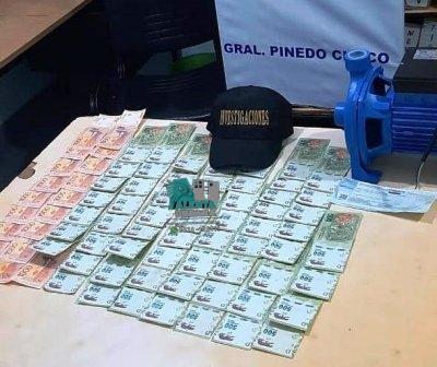 Gral. Pinedo: recuperan una importante suma de dinero que fue sustraído.