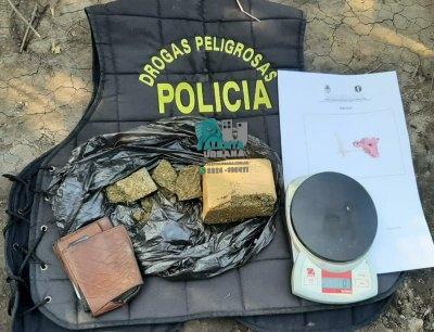 Machagai: circulaba con marihuana en su poder fue detenido.